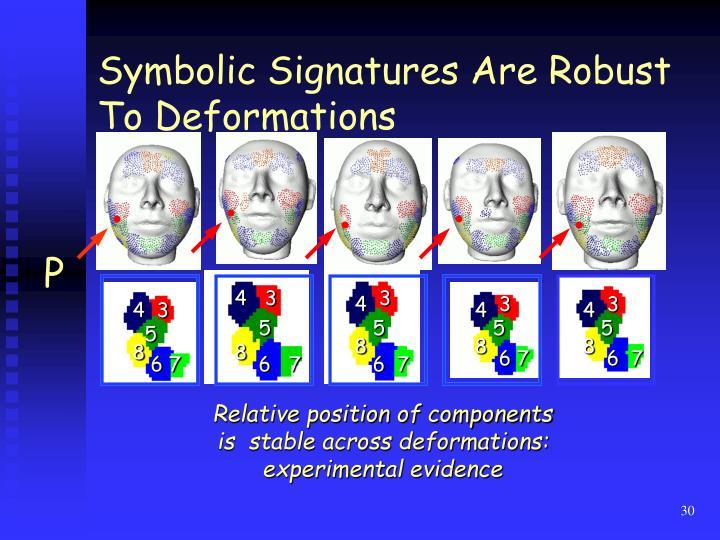 Symbolic Signatures Are Robust