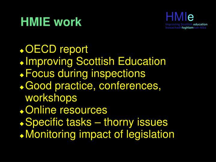 HMIE work