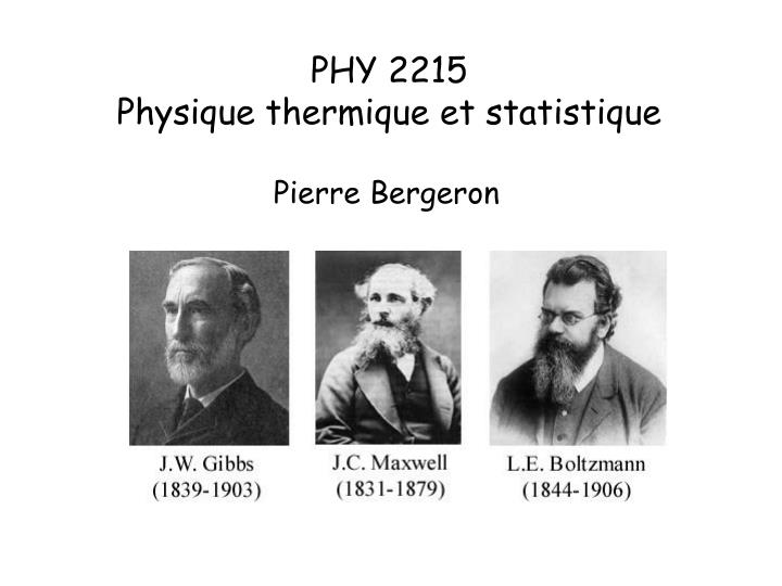 PHY 2215