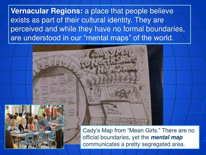 Vernacular Regions: