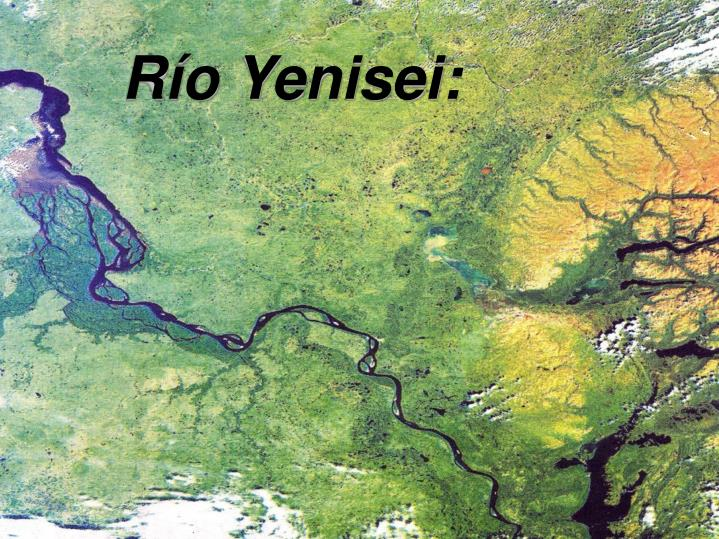 Río Yenisei: