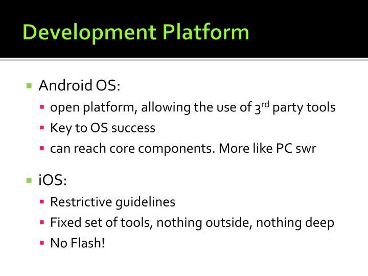 Development Platform