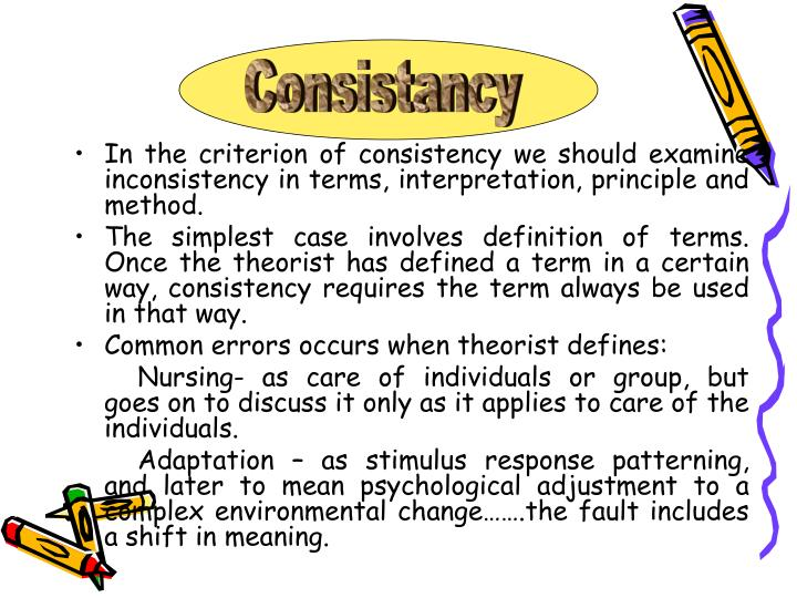 ways of evaluating a nursing theory A grand nursing theory watson's definition of nursing includes all these ways of knowing as any nurse practice setting and evaluating those.