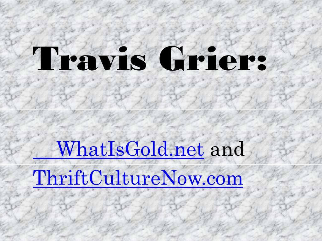 Travis Grier:
