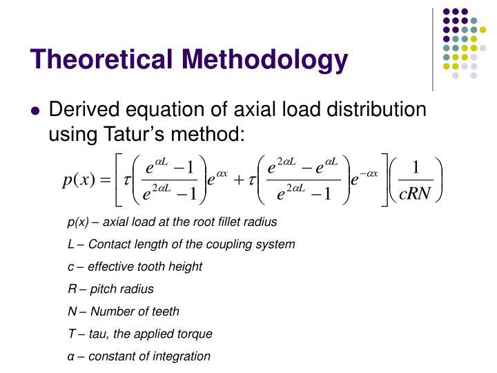 Theoretical Methodology