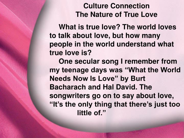 Culture Connection