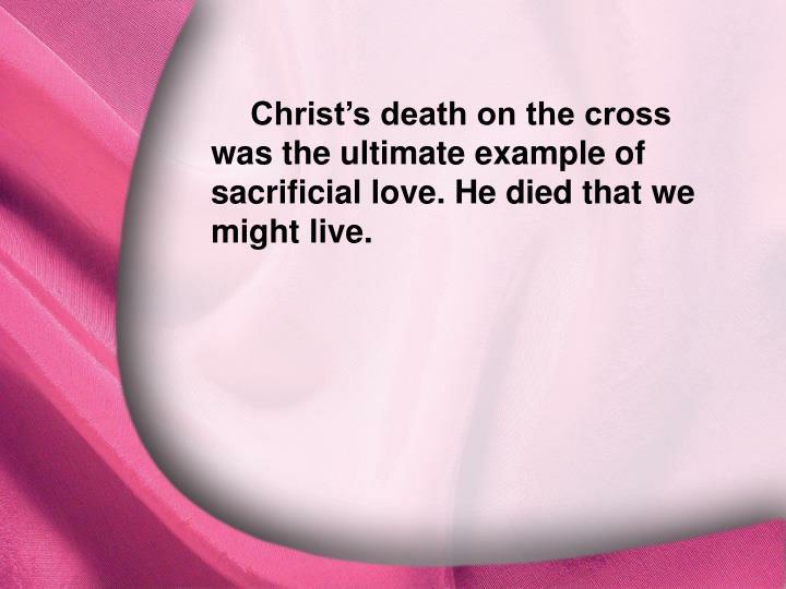 I. God Is Love