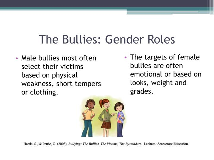 The Bullies: Gender Roles