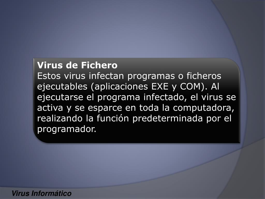 Virus de Fichero