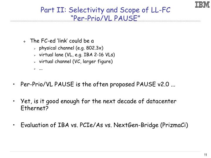 Part II: Selectivity and Scope of LL-FC