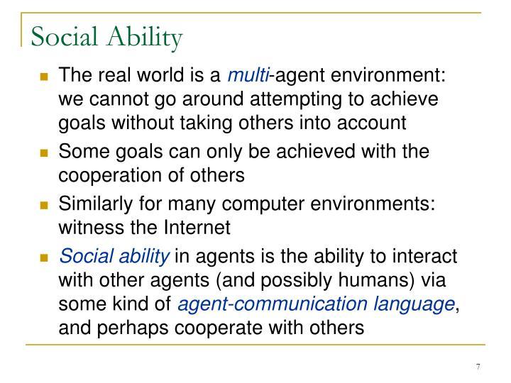Social Ability