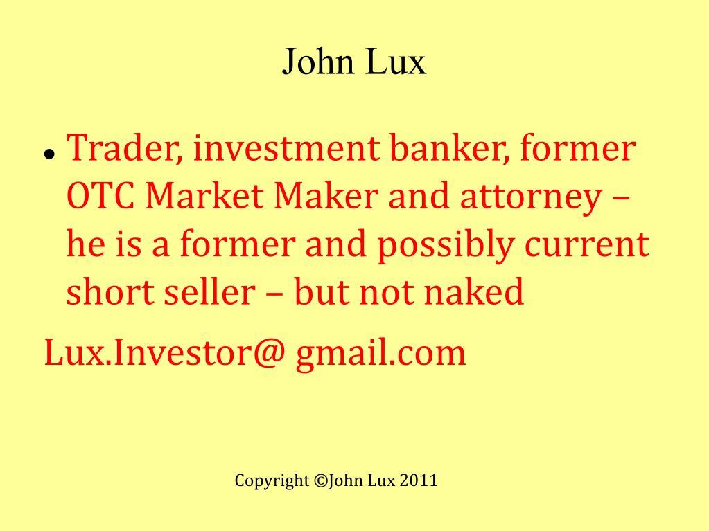 John Lux