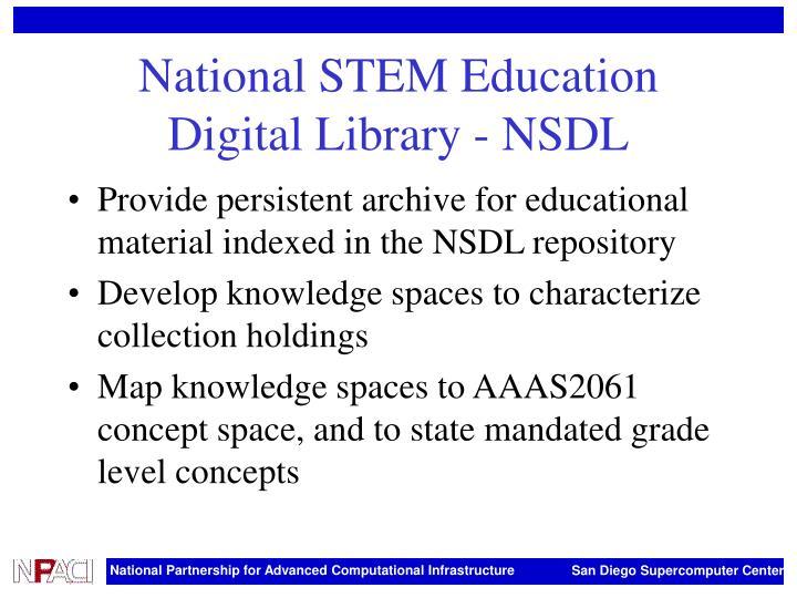 National STEM Education  Digital Library - NSDL