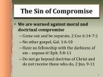the sin of compromise1