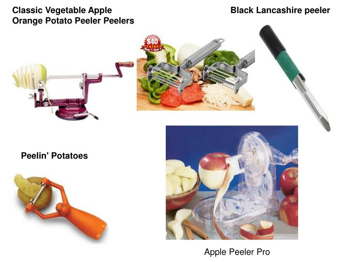 Classic Vegetable Apple Orange Potato Peeler Peelers