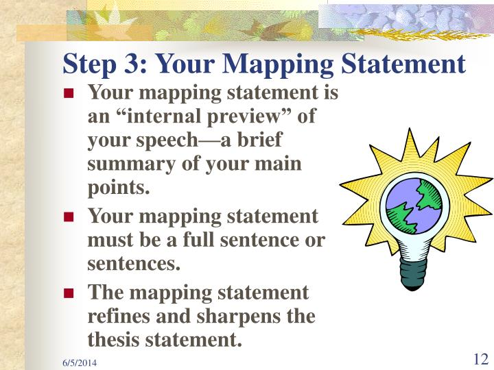 Step 3: Your Mapping Statement