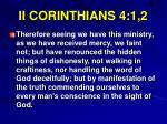 ii corinthians 4 1 2