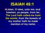 isaiah 49 1