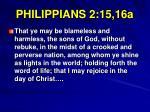 philippians 2 15 16a