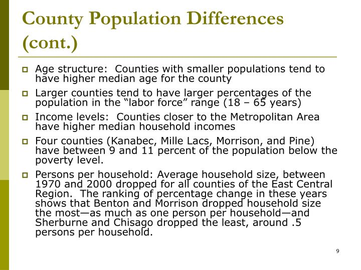 County Population Differences (cont.)