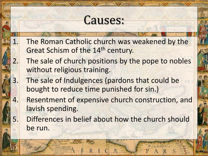 Causes: