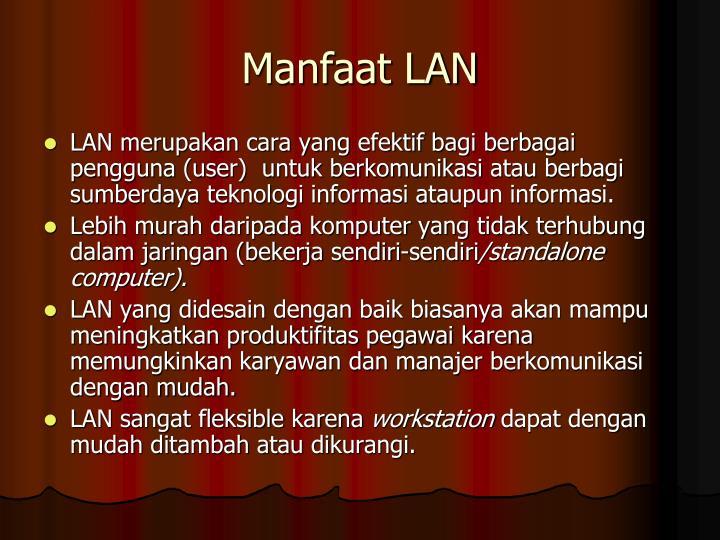 Manfaat LAN