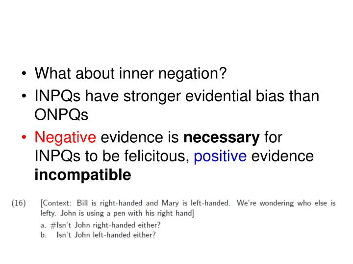What about inner negation?