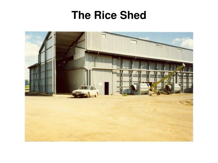 The Rice Shed