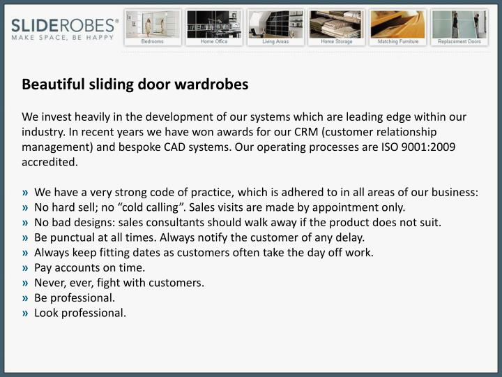 Beautiful sliding door wardrobes