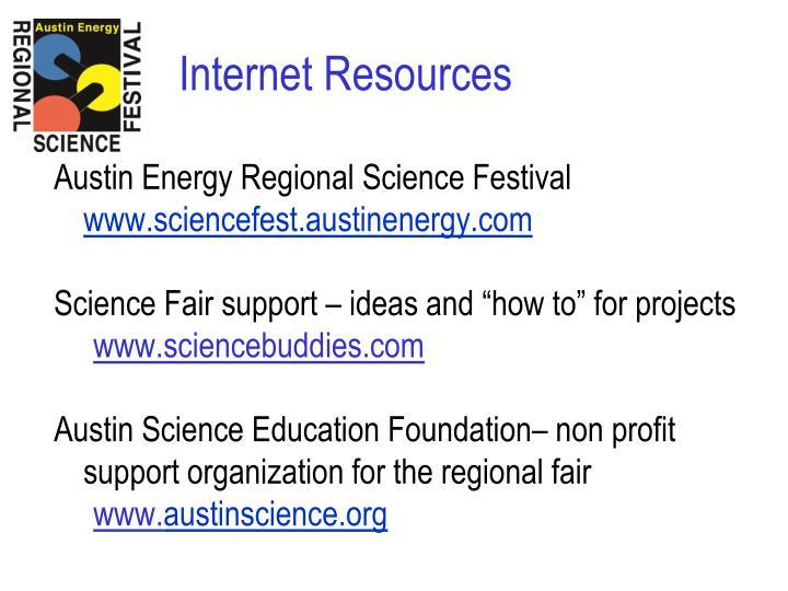Austin Energy Regional Science Festival