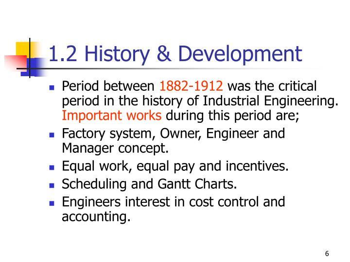 1.2 History & Development
