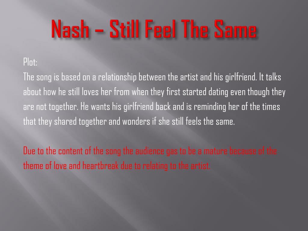 Nash – Still Feel The Same