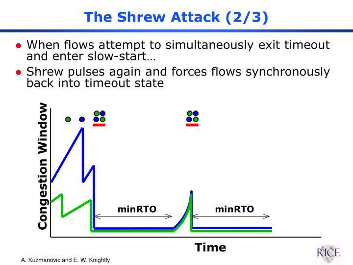 The Shrew Attack (2/3)