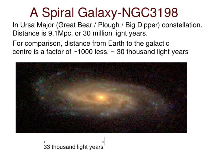 A Spiral Galaxy-NGC3198