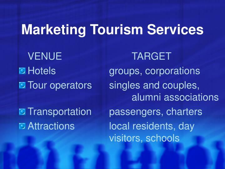 Marketing Tourism Services