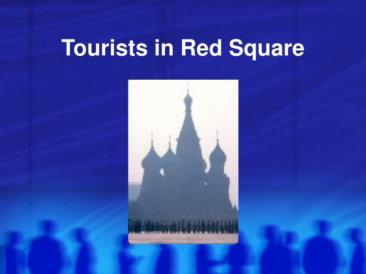 Tourists in Red Square
