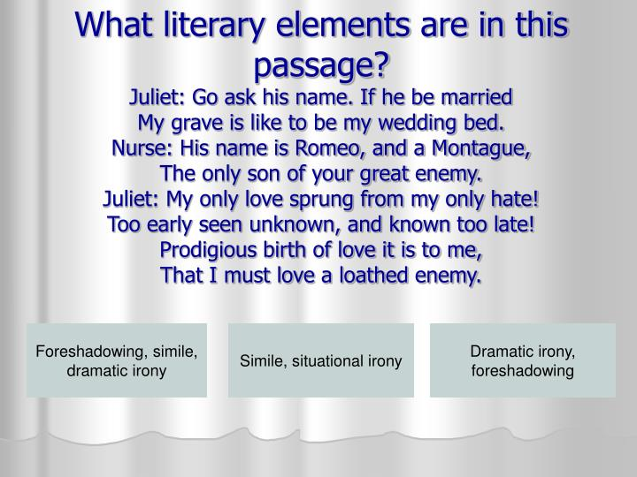 What literary elements are in this passage?