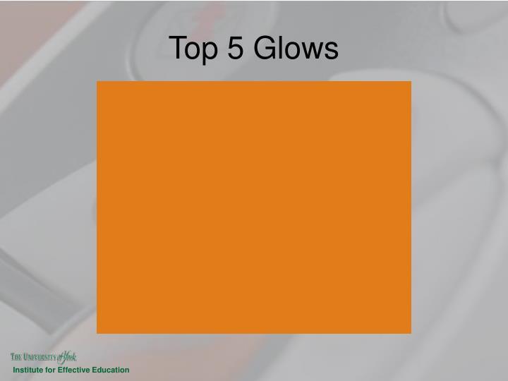 Top 5 Glows
