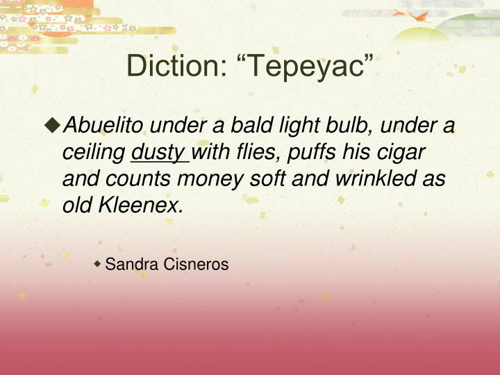 "Diction: ""Tepeyac"""
