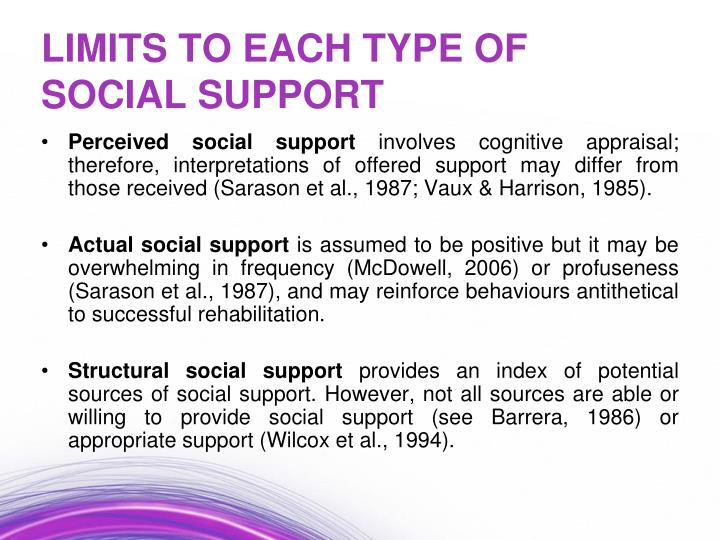Perceived social support