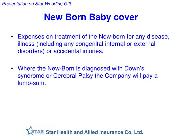 New Born Baby cover