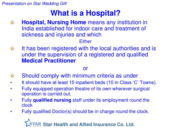What is a Hospital?