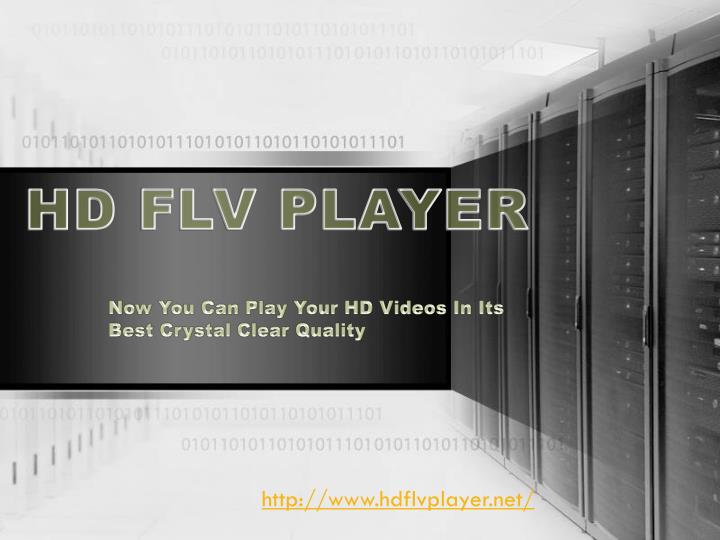 HD FLV PLAYER