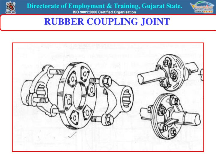 RUBBER COUPLING JOINT