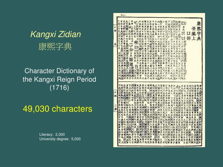 Kangxi Zidian
