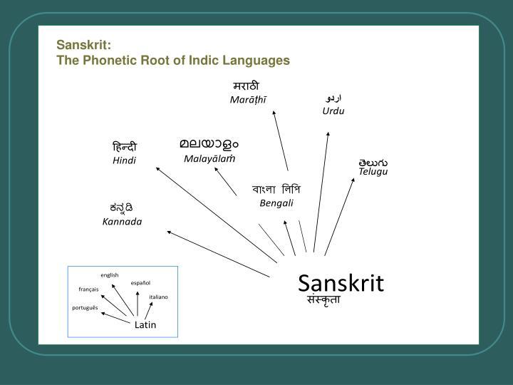 Sanskrit: