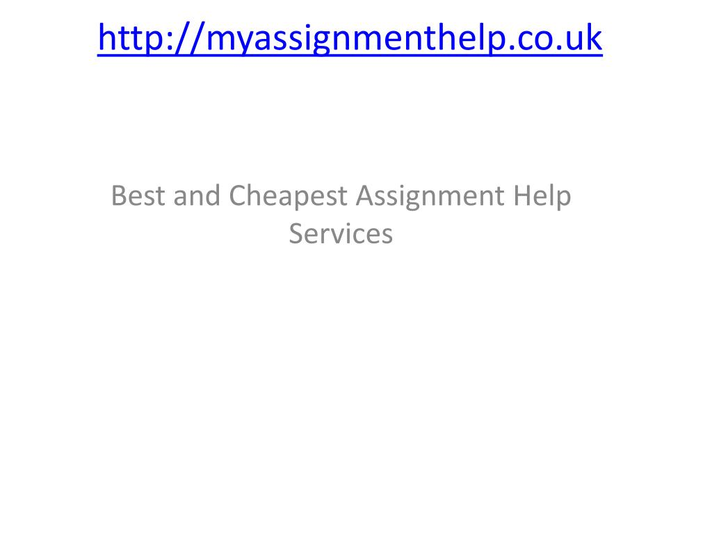 http myassignmenthelp co uk