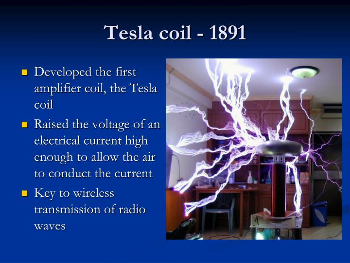Tesla coil - 1891