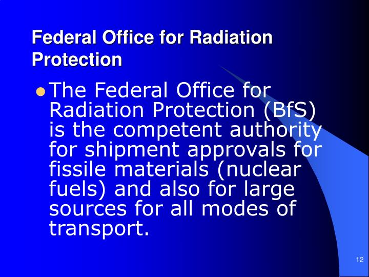 Federal Office for Radiation Protection