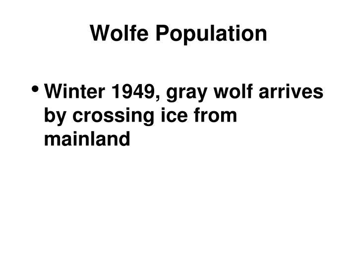 Wolfe Population